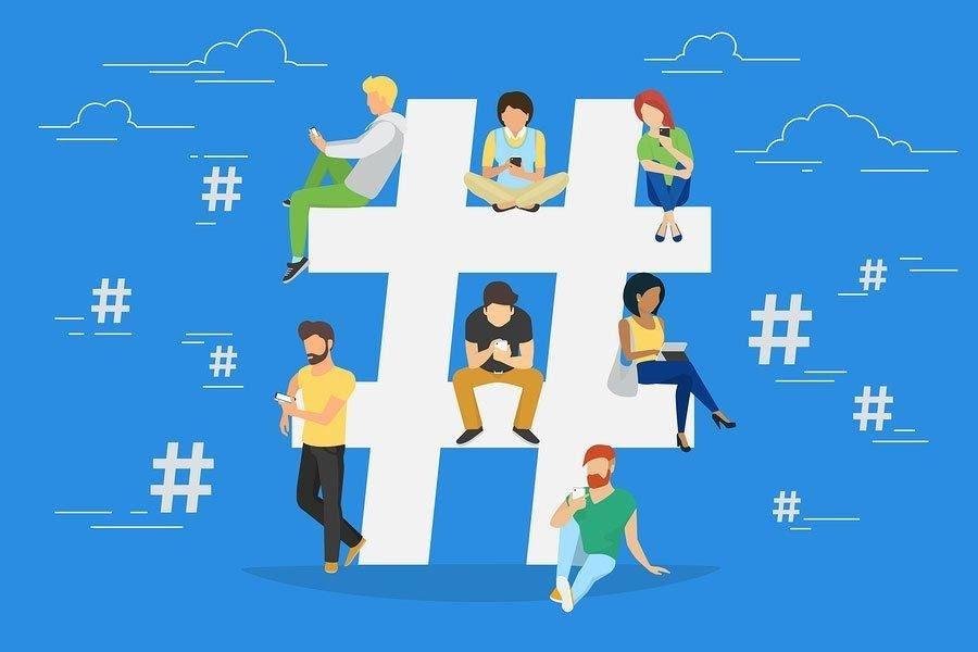Use a hashtag, mas não exagere